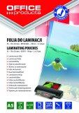 Folija za plastificiranje A5 125mic 100/1 sjajna Office products
