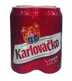 Pivo 5% alk. Karlovačko 4x0,5 l