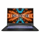 """Prijenosno računalo GIGABYTE A7 X1 / Ryzen 9 5900HX, 16GB, 512GB SSD, GeForce RTX 3070Q 8GB 140W, 17.3"""" IPS 144Hz, Windows 10, crno"""