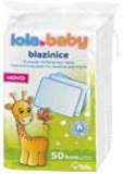 Blazinice Lola Baby 50/1