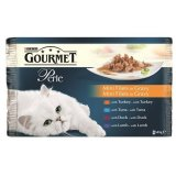 Gourmet Perle Multipack Puretina/Patka/Janjetina/Tuna Grill 4x85g