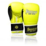 Boxeur Fluo, rukavice za boks, žuta