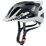 Uvex Quatro Pro, biciklistička kaciga, crna
