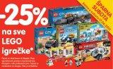 -25% na sve Lego igračke