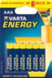 Baterije Energy AA ili AAA Varta 6kom.