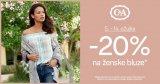 -20% na ženske bluze