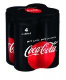 Sok gazirani Coca-Cola 4x0,33 L