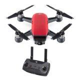 Dron DJI Spark + GRATIS daljinski upravljač, Lava Red, FullHD kamera, 2-osni gimbal, crveni