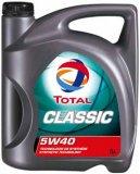 Motorno ulje Total classic 5W40 5 l