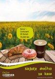 Kava + Croissant ili Donat