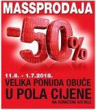 Massprodaja -50% na obuću