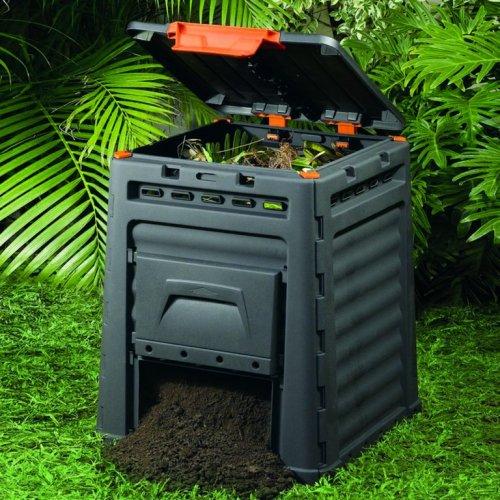 Eco Komposter S Poklopcem 65x65x75 Cm Plodine Akcija Njuskalo