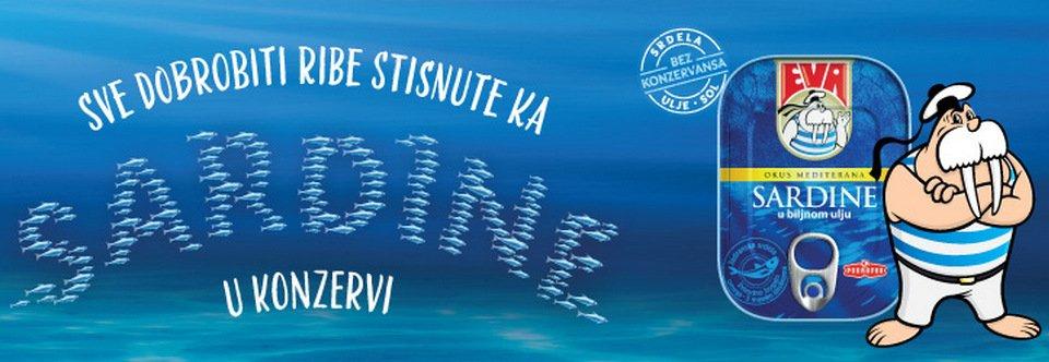 Eva sardine akcija